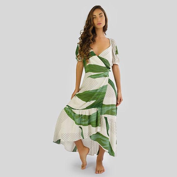 Vestido Maniva