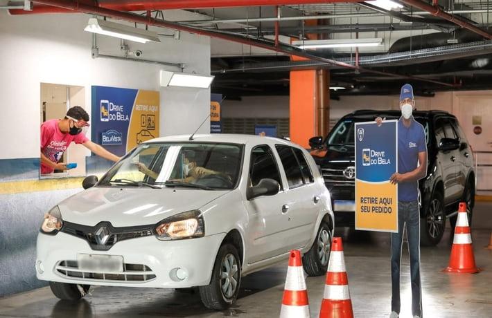 Shopping Bela Vista segue com funcionamento pelo delivery e drive-thru até 21 de março