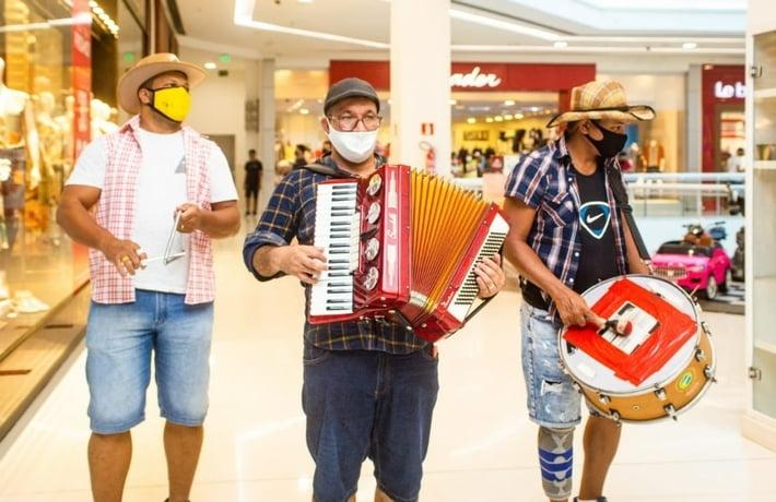 Shopping Bela Vista promove Trio de Forró de sexta a domingo