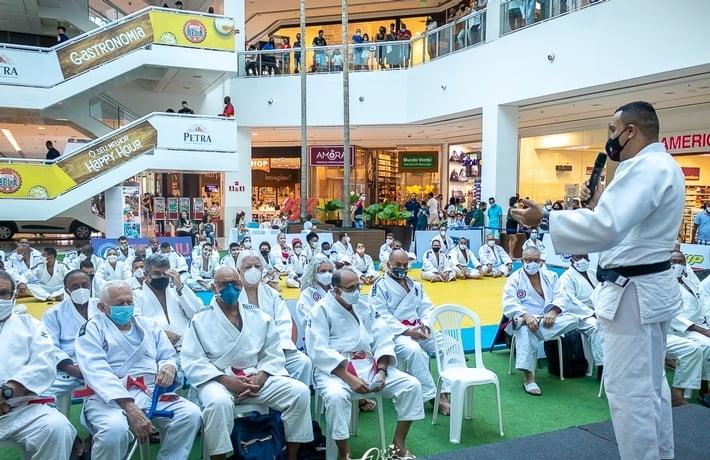 Shopping Bela Vista recebe encontro de Kodanshas e Faixas Pretas em Salvador