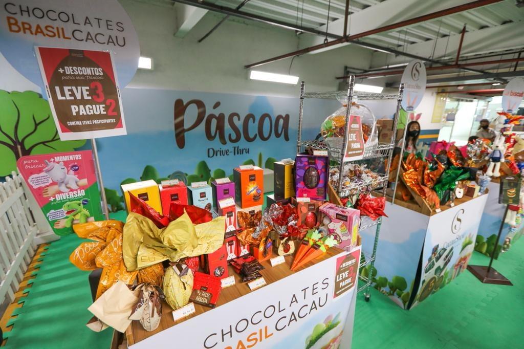 Shopping Bela Vista funciona com Drive de Páscoa, supermercado, Centro Médico e delivery